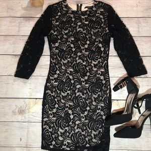 Forever 21 LBD-Small with Lace Overlay-fully lined
